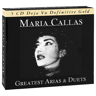 Maria Callas Greatest Arias & Duets (5 CD) Serafin Артуро Басиле Arturo Basile инфо 3813j.